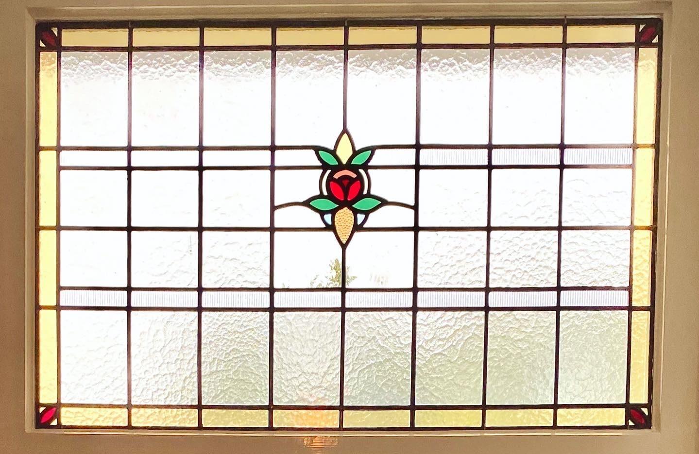 Art Nouveau Bovenlicht Statenkwartier-min
