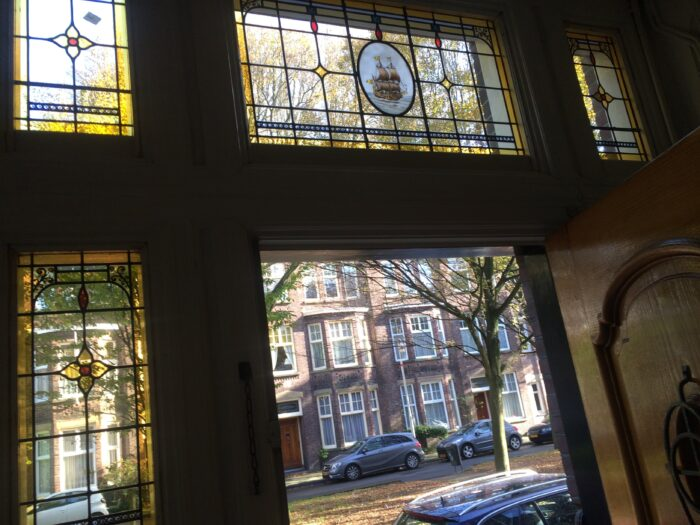 Glas in lood art adeco Benoordenhout-min