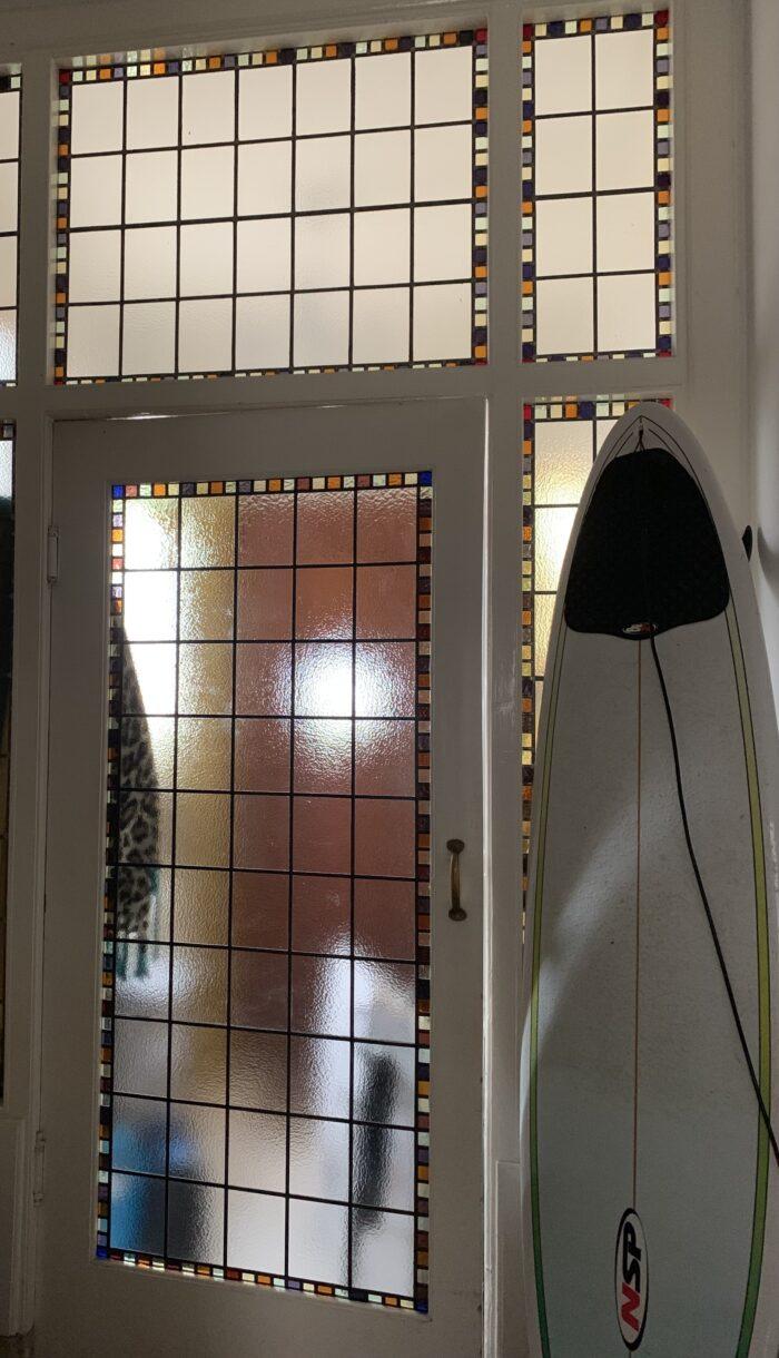 Het ruijtenhuis - project glas in lood