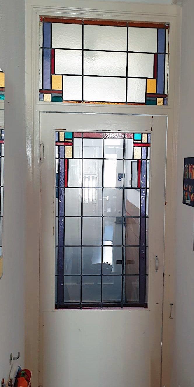 Het ruijtenhuis - glas in lood